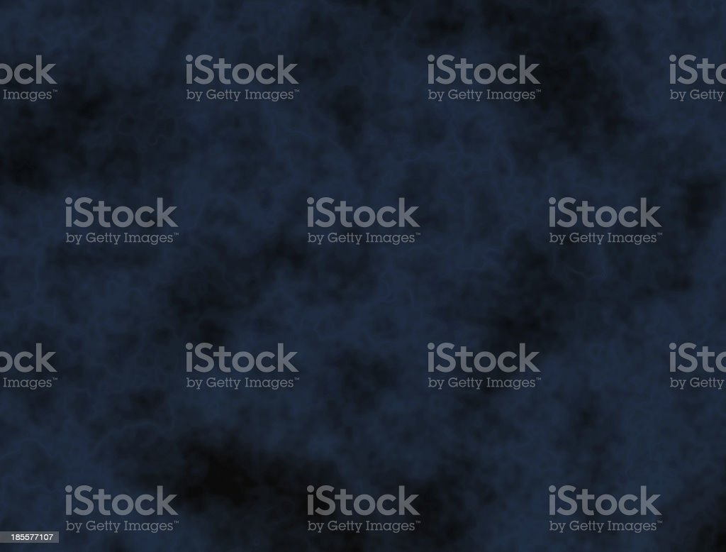 Space nebula - blue abstract background royalty-free stock photo