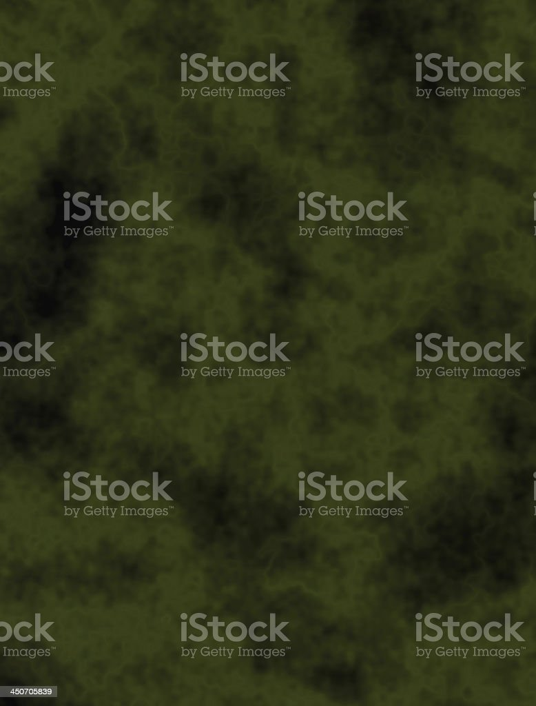 Space nebula - green abstract background royalty-free stock photo