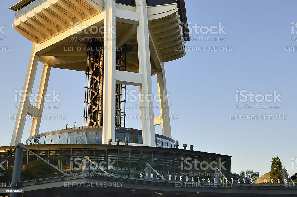 Space Needle, Seattle royalty-free stock photo