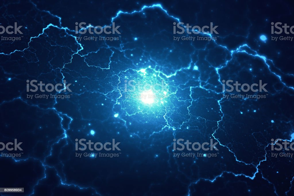Space or time travel conceptual background stock photo