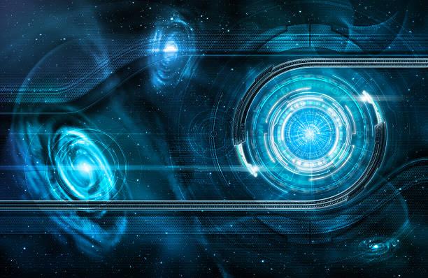 Space portal stock photo