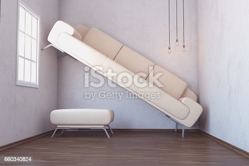 istock Space Problem In Living Room Interior 660340824