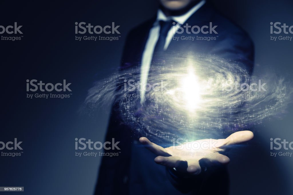 Space science concept. stock photo