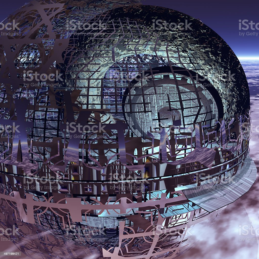 Abschaffen der Erde bedroht Raum – Foto