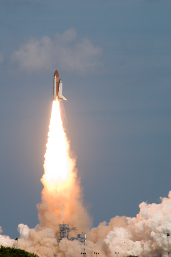 Launch of Space Shuttle Atlantis for the STS-122 mission