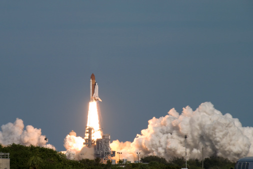 Launch of the Space Shuttle Atlantis (STS-122)Other images in the same series: