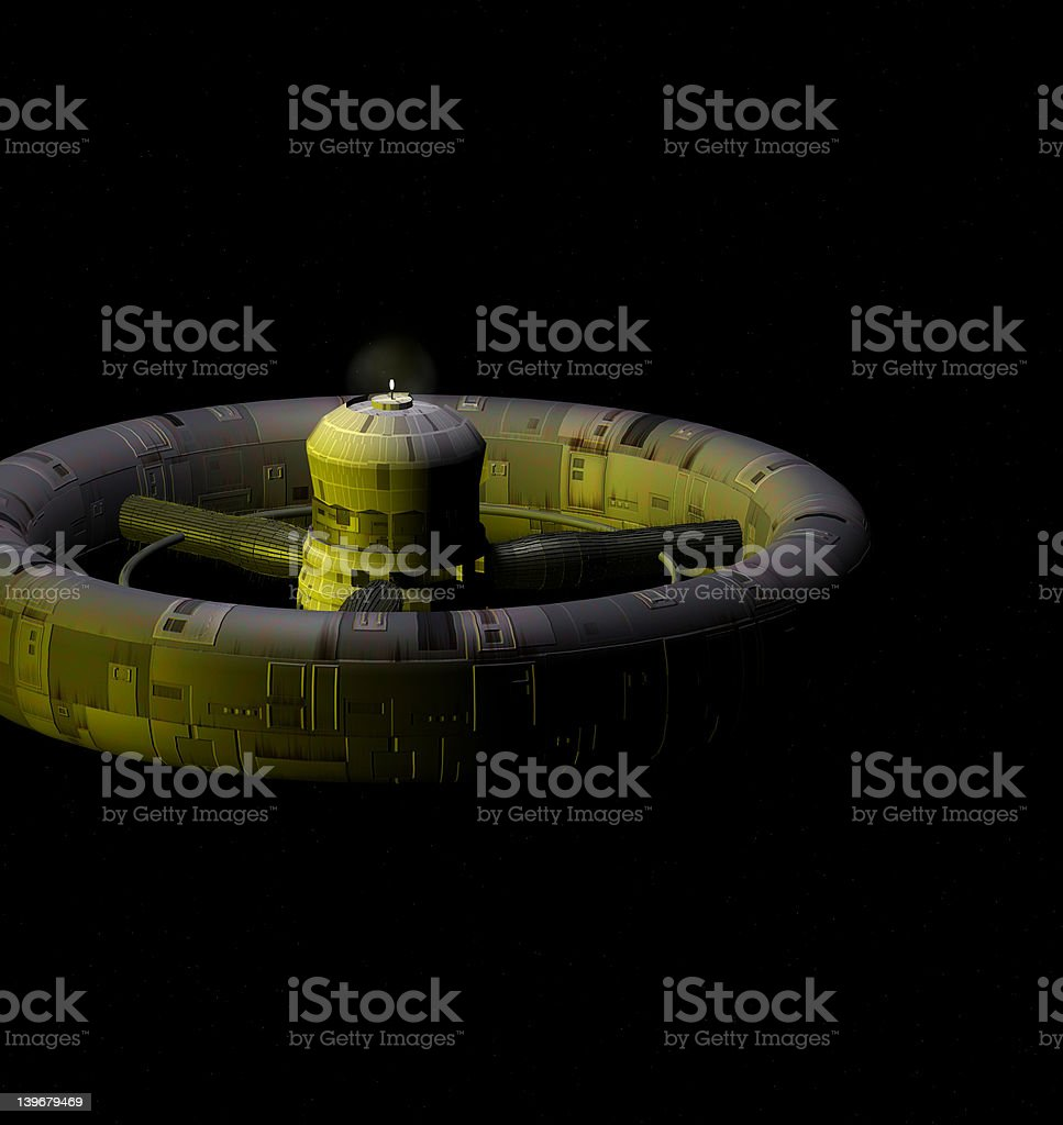 Space Shuttle stock photo