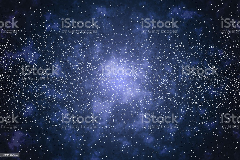 Space, Stars Background stock photo