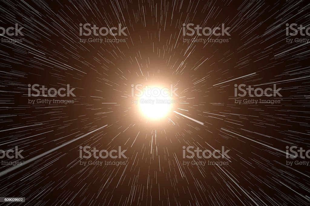 Space, Stars in Motion stock photo