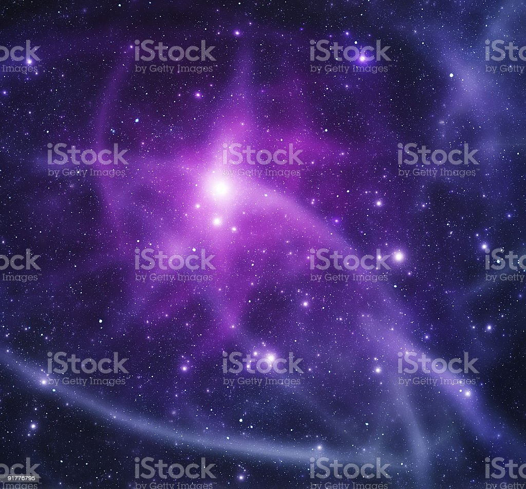 Space stars royalty-free stock photo