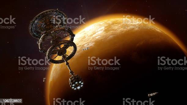 Space Station Stock Photo - Download Image Now