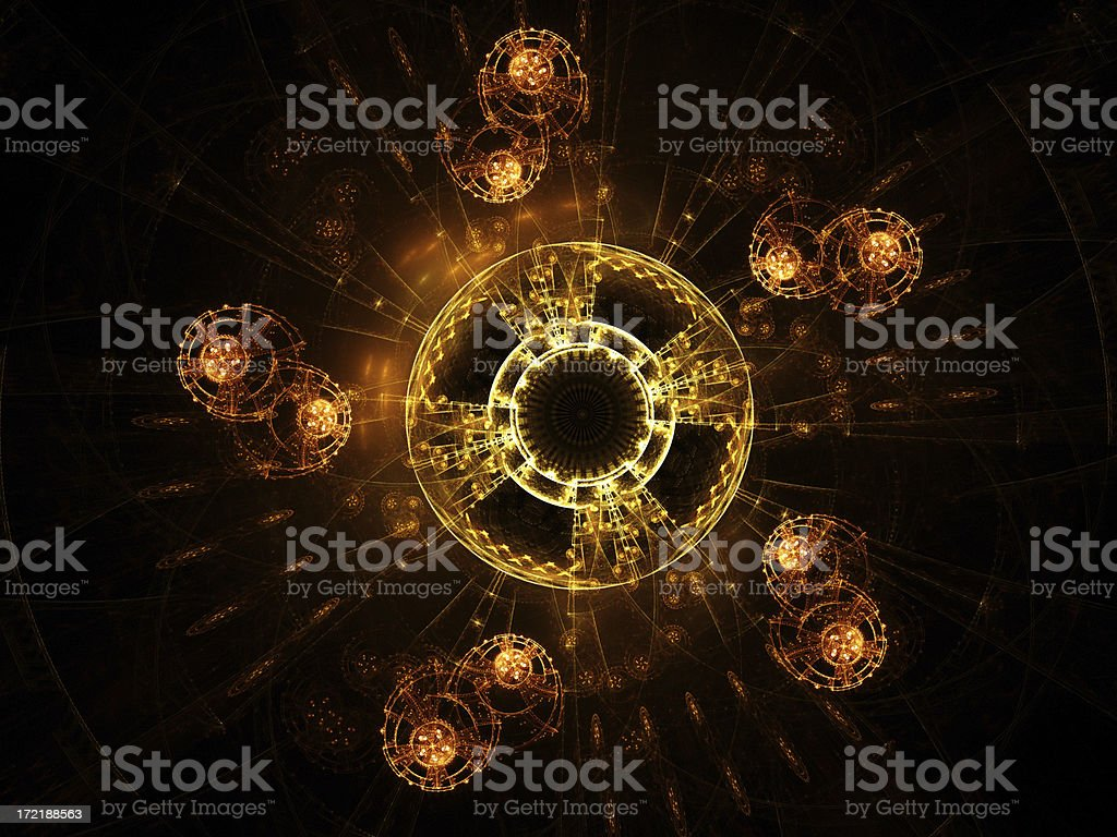 Space station royalty-free stock photo