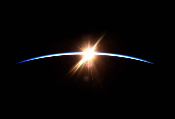 space sunrise - space exploration stock photos and pictures