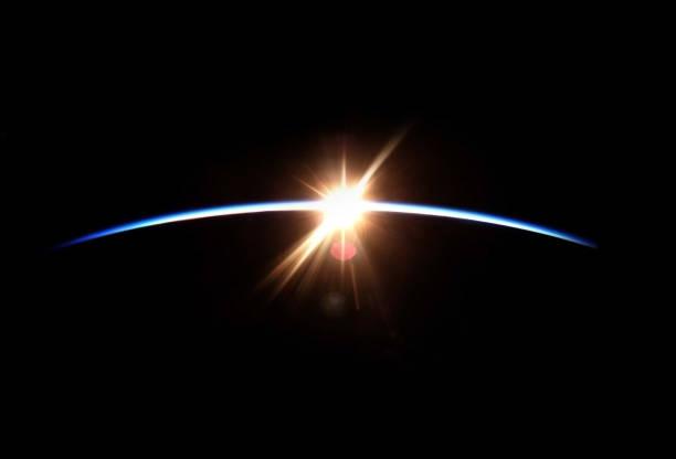 espaço nascer do sol - exploração espacial - fotografias e filmes do acervo