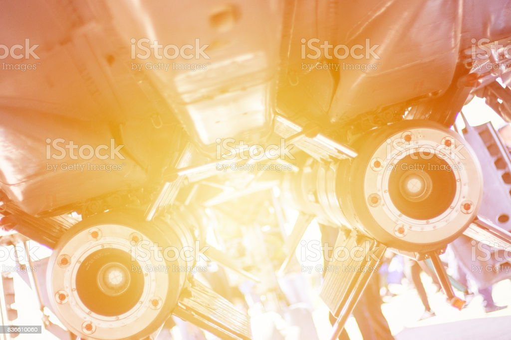 Space technology background. stock photo