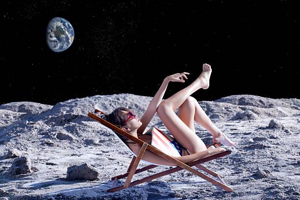 espaço de turismo - exploração espacial - fotografias e filmes do acervo