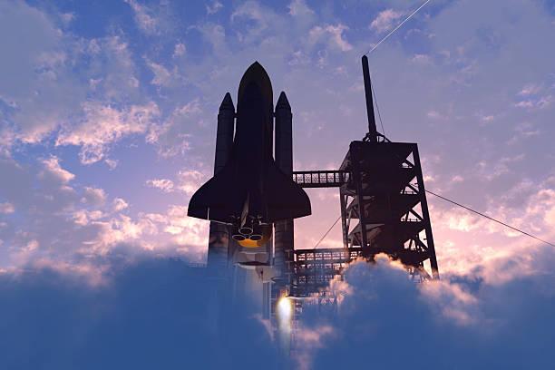 raum transport - kennedy space center stock-fotos und bilder
