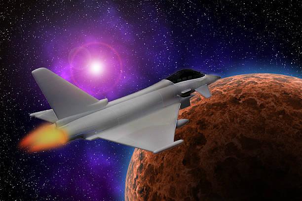 Space Typhoon. stock photo