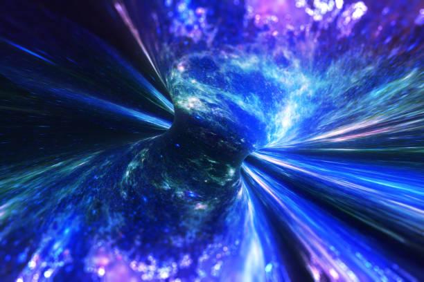Space Warp Hintergrund – Foto
