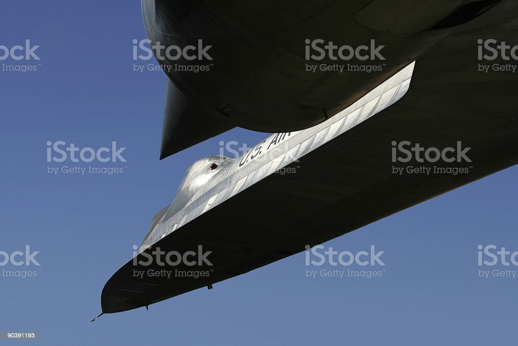 Space-Age Jet 1 stock photo