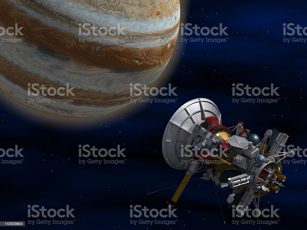 Spacecraft. stock photo