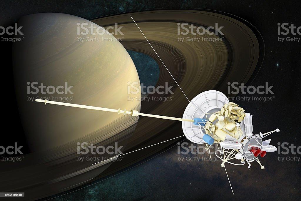 Spacecraft stock photo