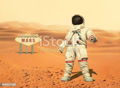 🔥 Cartoon Astronaut And Classic Rocket