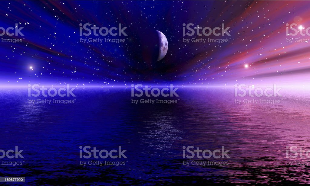 Spacevision royalty-free stock photo