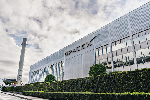 Spacex Headquarters Stock Photo - Download Image Now