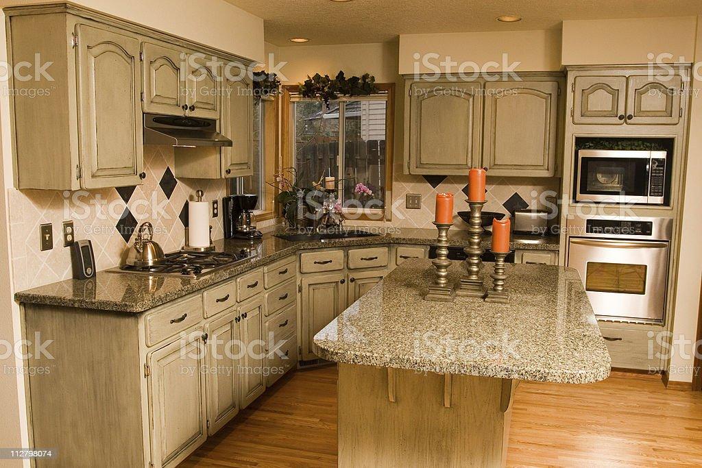 Spacious Kitchen - 4 royalty-free stock photo