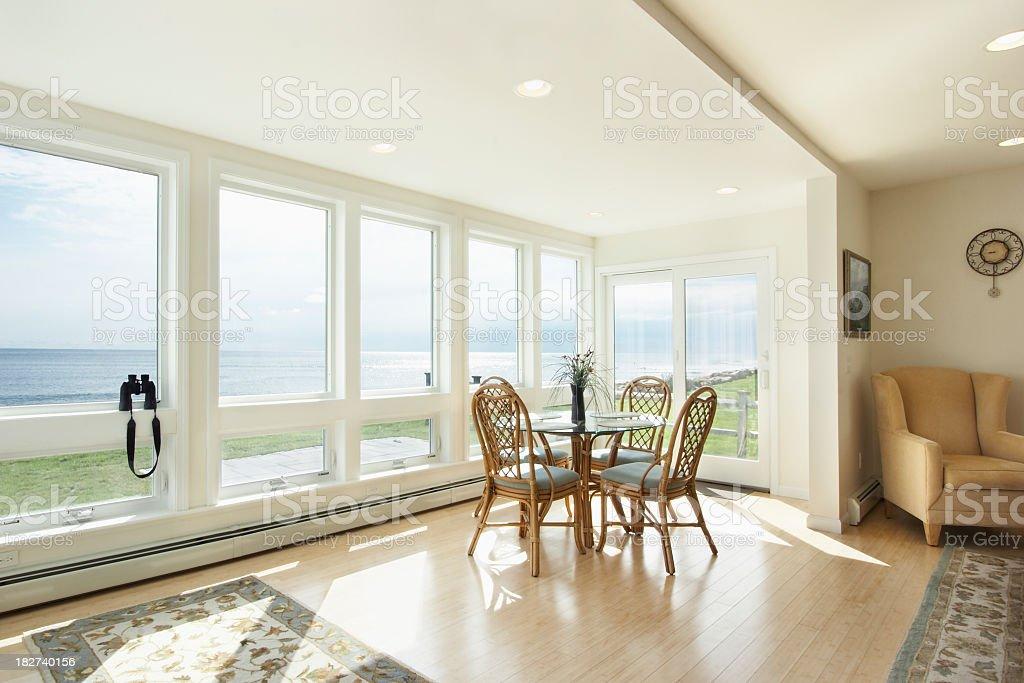 Spacious Vacation Home stock photo