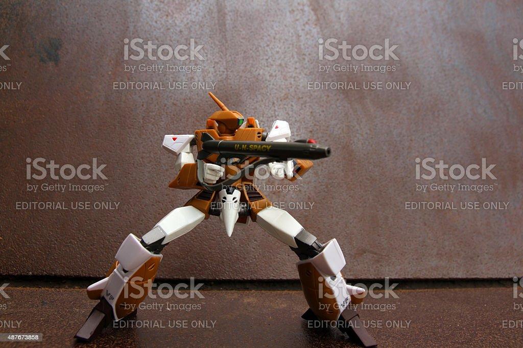 Spacy Defender stock photo