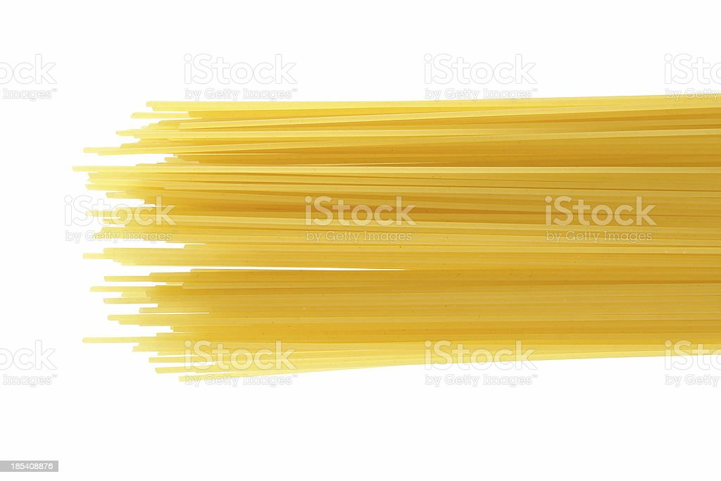 Spagetti to prepare royalty-free stock photo