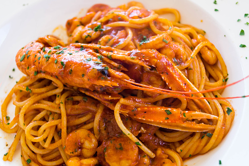 Spaghetti alla Busara