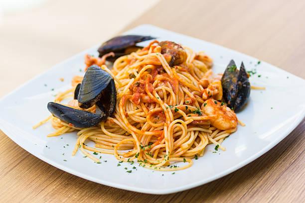 Spaghetti allo scoglio – zdjęcie