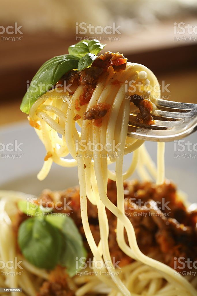 Spaghetti Bolognese stock photo