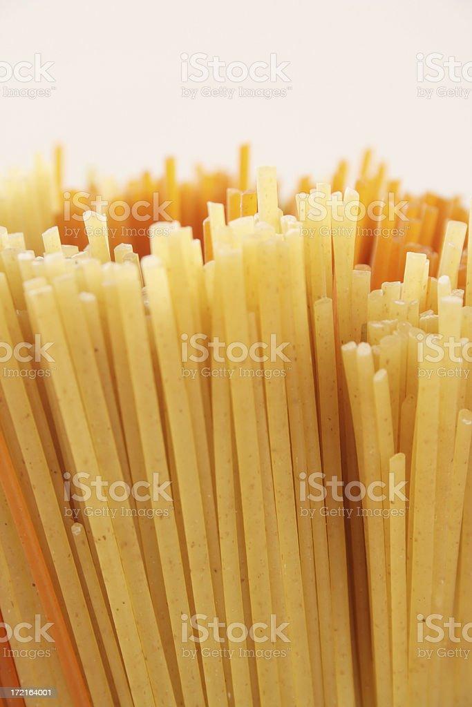 Spaghetti detail royalty-free stock photo