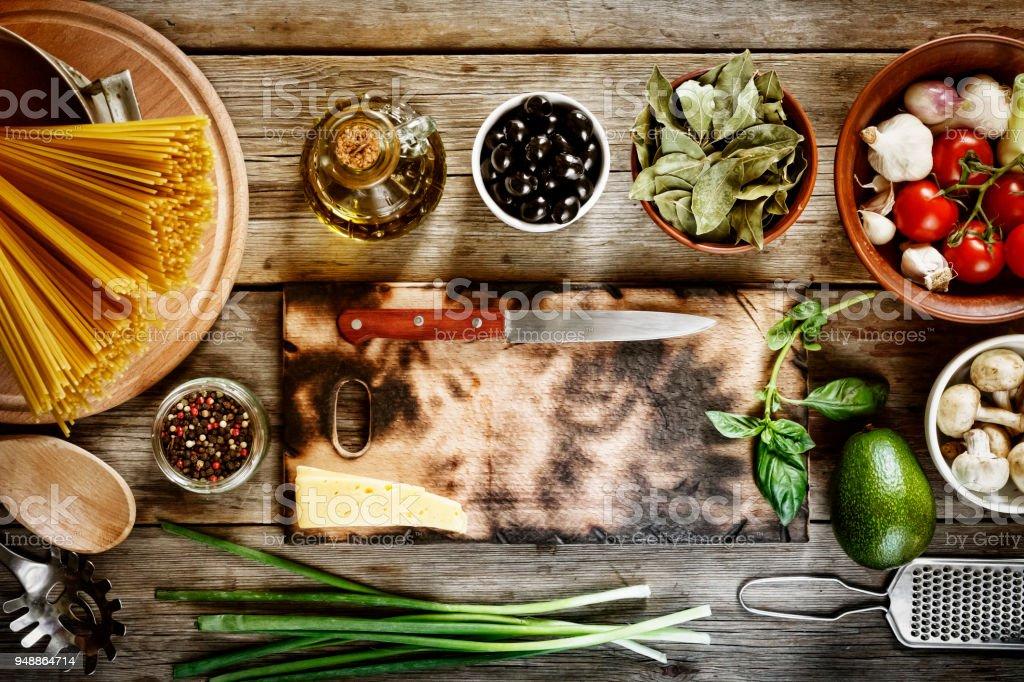 Spaghetti Italienische Küche Kochen Rezept Italienische Pasta ...