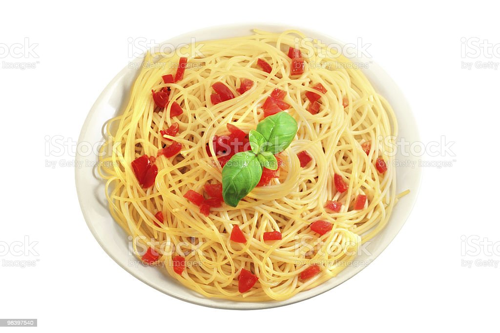 spaghetti people royalty-free stock photo
