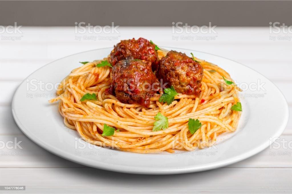 Spaghetti. – Foto