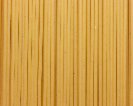 Spaghetti pasta closeup.