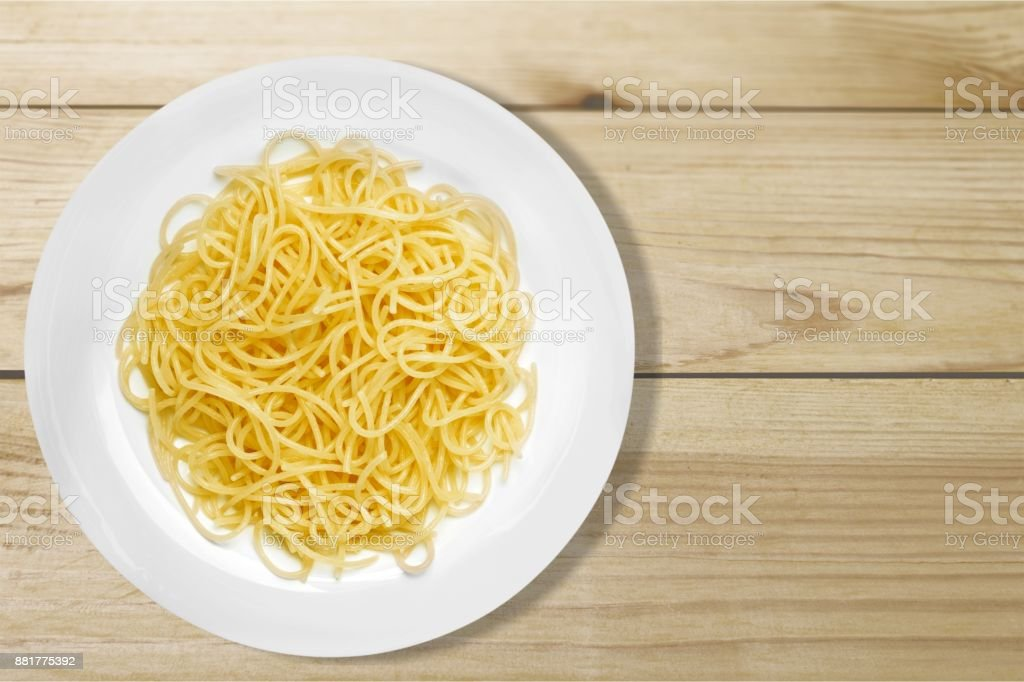 Spaghetti. stock photo