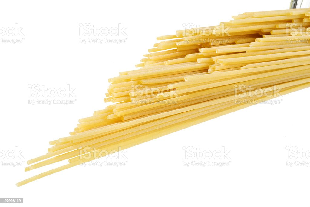 spaghetti royalty free stockfoto