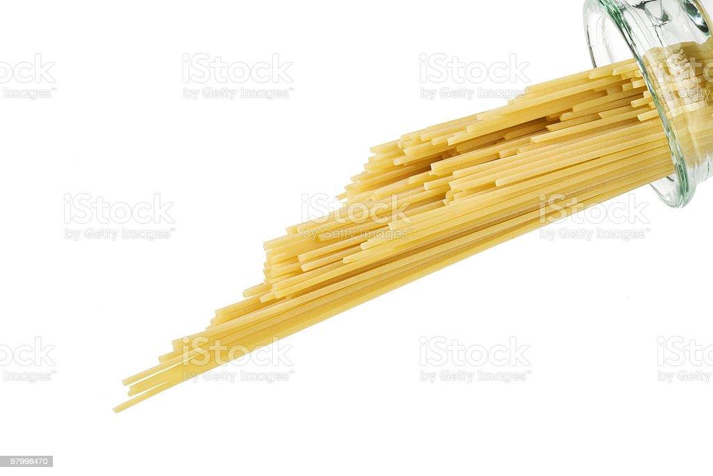 spaghetti royalty free stockfoto