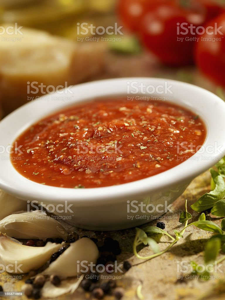 Spaghetti Sauce royalty-free stock photo