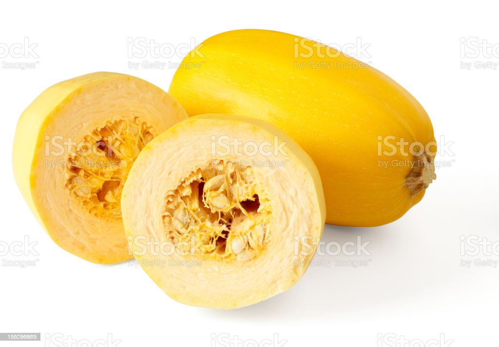 Spaghetti squash royalty-free stock photo
