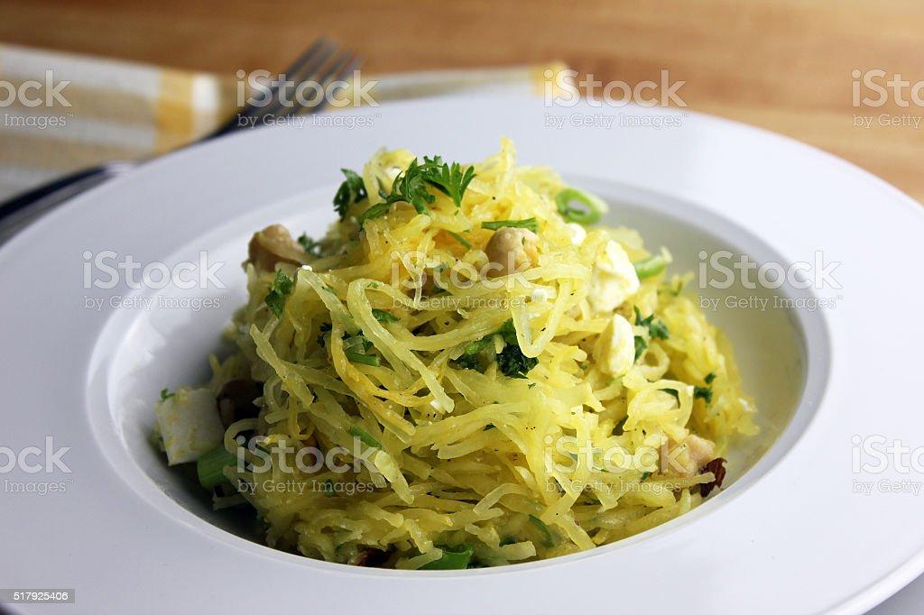 Spaghetti Squash stock photo