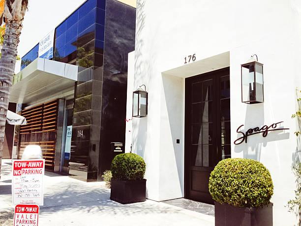 Spago, berühmten restaurant in Beverly Hills, Kalifornien – Foto