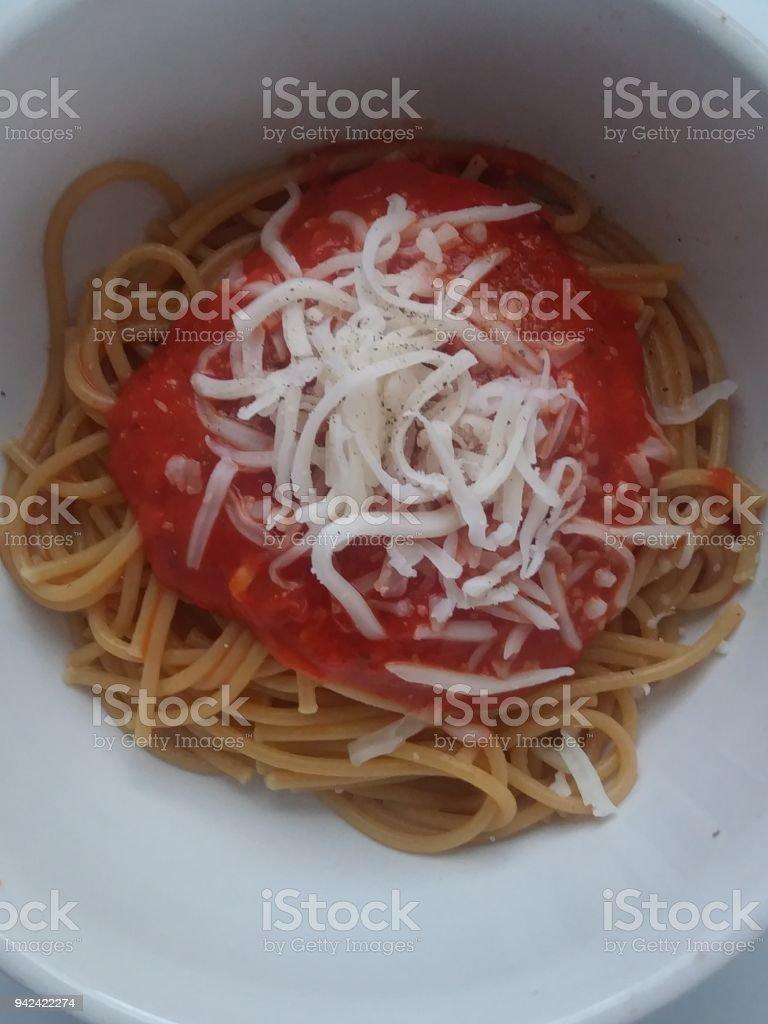 Spaguetti stock photo