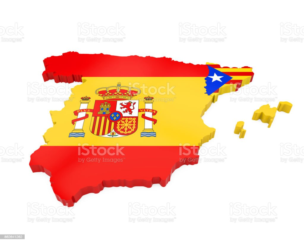 Spain And Catalonia Map Isolated Stock Photo - Download ... on andorra map, northeastern region and capitals map, madrid map, aragon map, seville map, talamanca map, galicia map, spanish civil war, canary islands, camp nou, catalan people, benelux map, corsica map, basque country, iberian peninsula, balearic islands, spain map, catalan language, libya map, spanish language, catalunya map, andalusia map, the canadian provinces map, catalan map, costa del sol map, alps map, castilla la vieja map, costa blanca map, faroe islands map,